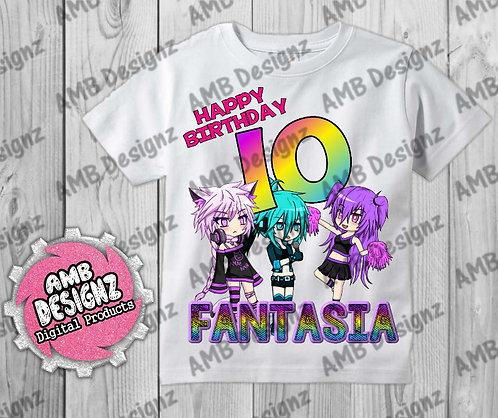 Gotcha Life T-Shirt Birthday Image - Gotcha Life Party Supplies
