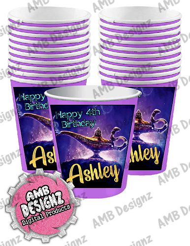 Aladdin Party Cups Supplies - Aladdin Party Supplies