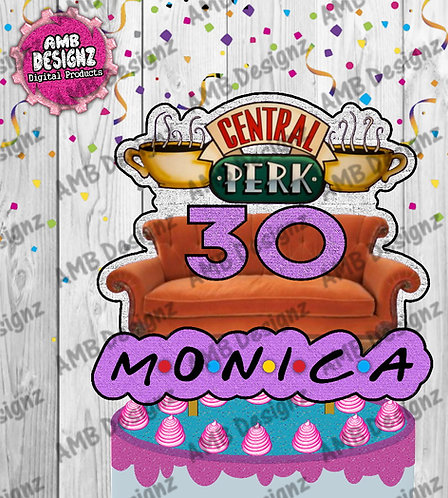 Friends Cake Topper Centerpiece - Friends Party Supplies