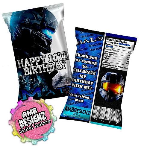 Halo Chip Bag Party Favor