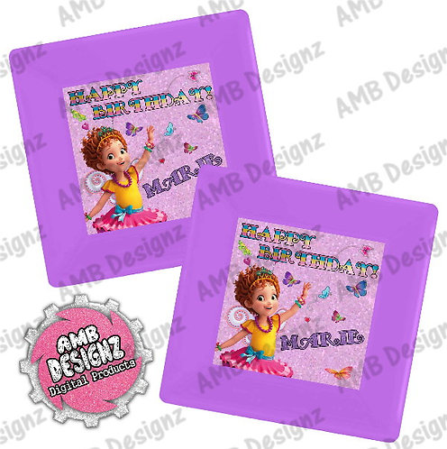 Fancy Nancy Party Plates Party Supplies