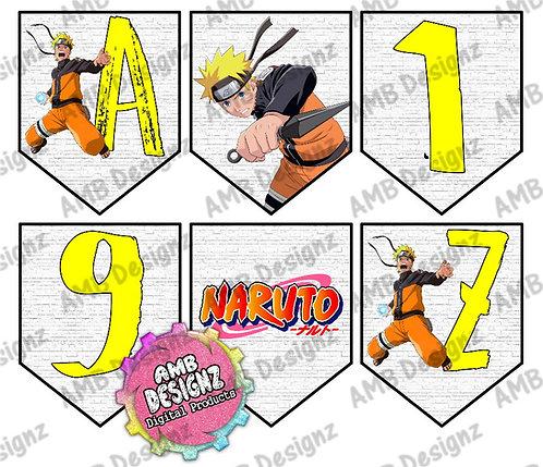 Naruto Party Banner - Naruto Party Supplies