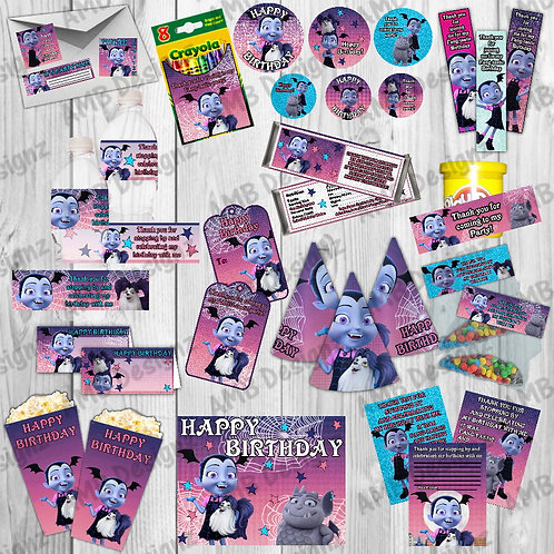 Vampirina Party Supplies Vampirina Cake Topper