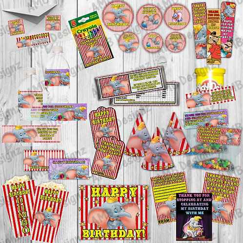 Dumbo Party Supplies