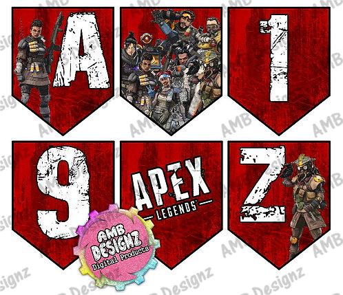 Apex Legends Party Banner - Apex Legends Party Supplies