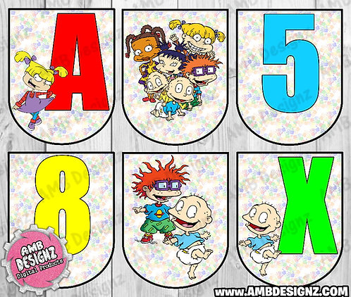 Rugrats Party Banner Party Supplies