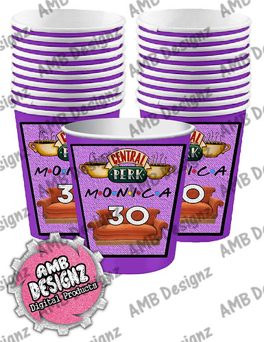 Friends Party Cups - Friends Party Supplies