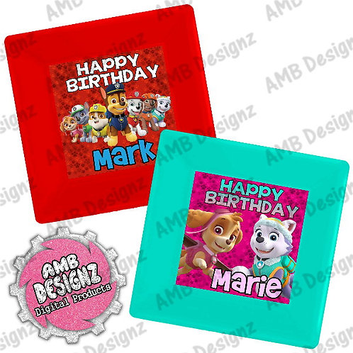Paw Patrol Party Plates Party Supplies