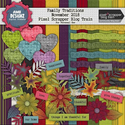 Family Traditions mini Scrapbooking Kit