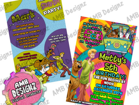 Scooby-Doo Birthday Party Ideas & Party Supplies!