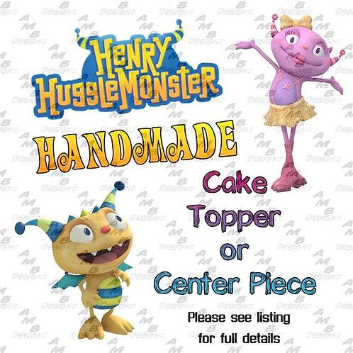 Henry Hugglemonster Cake Topper Centerpiece
