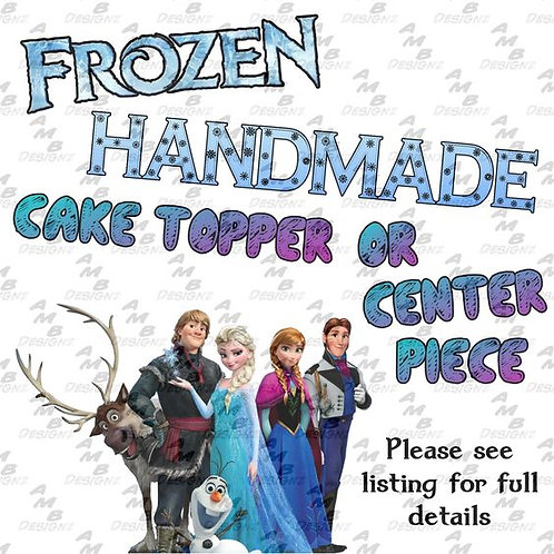 Disney's Frozen Cake Topper Centerpiece
