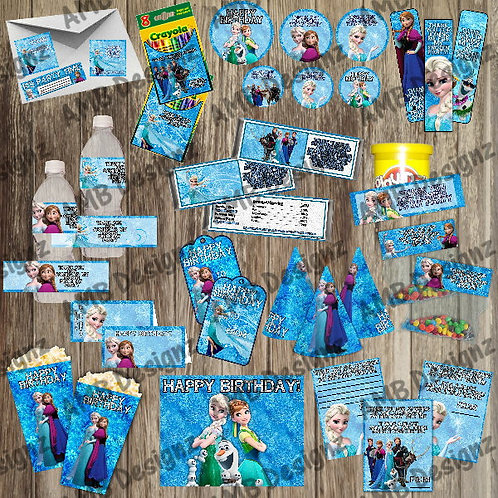 Disney's Frozen Party Supply Ultimate Pack