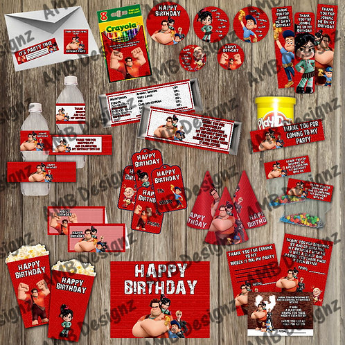 Disney's Wreck it Ralph Party Supply Ultimate Pack