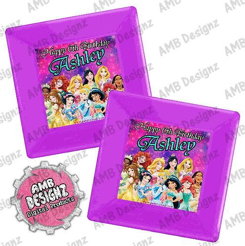 Disney Princess Party Plates Party Supplies