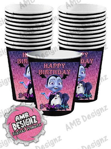 Vampirina Party Cups Party Supplies