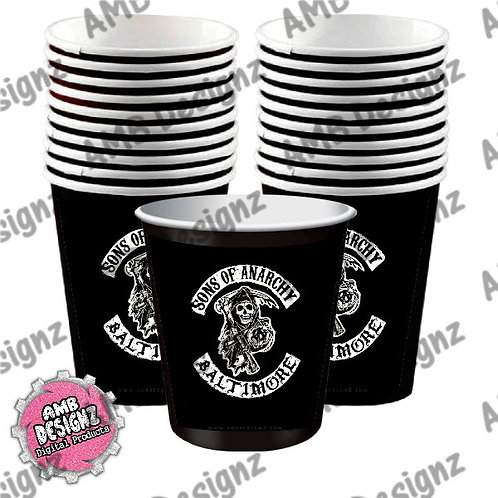 Sons of Anarchy Party Cups Party Supplies