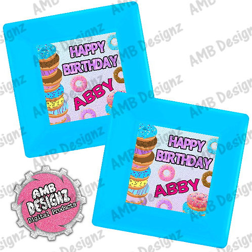 Donut Shop Party Plates Party supplies