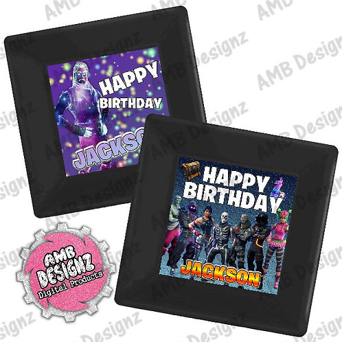 Fortnite Party Plates Party Supplies