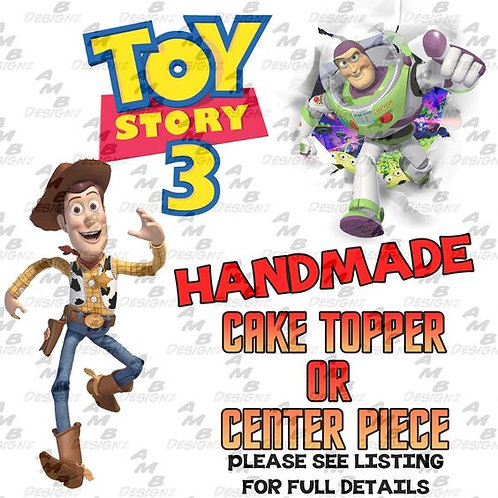 Toy Story Cake Topper Centerpiece
