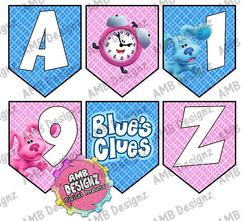 Blues Clues Party Banner -  Blues Clues Party Supplies