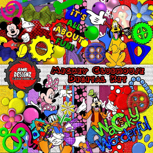 Mickey Mouse Scrapbooking