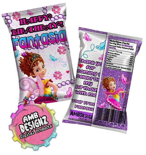 Fancy Nancy Chip Bag Party Favor Party Supplies