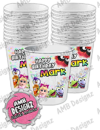 Muppet Babies Party Cups Party Supplies