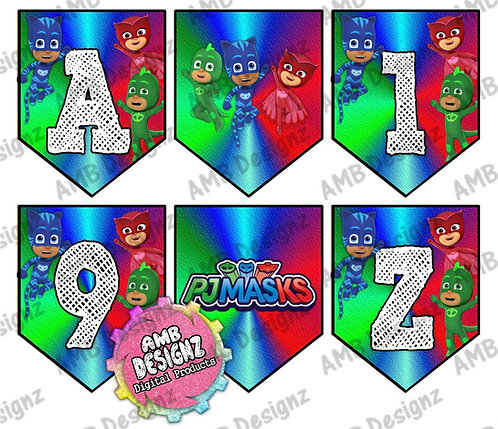 PJ Masks Party Banner - PJ Masks Party Supplies