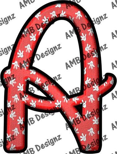 Disney Font Clipart