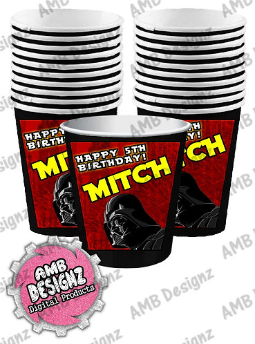 Star Wars Party Cups - Star Wars Party Supplies