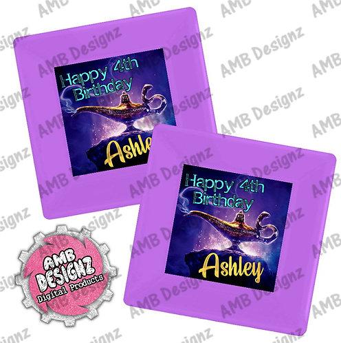 Aladdin Party Plates Supplies - Aladdin Party Supplies