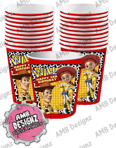 Toy Story Party Cups Supplies - Toy Story Party Supplies