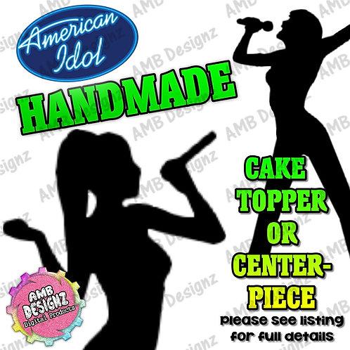 American Idol Cake Topper Centerpiece