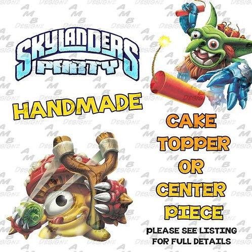 Skylanders Cake Topper Centerpiece