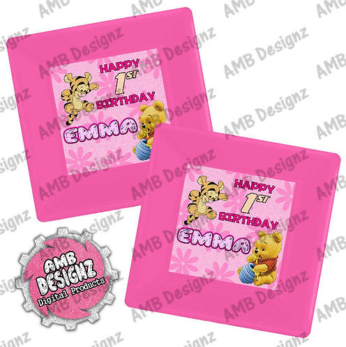 Winnie the Pooh Party Plates - Winnie the Pooh Party Supplies
