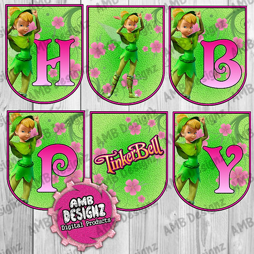 Tinkerbell Party Banner -  Tinkerbell Party Supplies