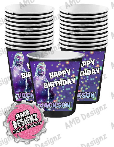 Fortnite Party Cups Party Supplies