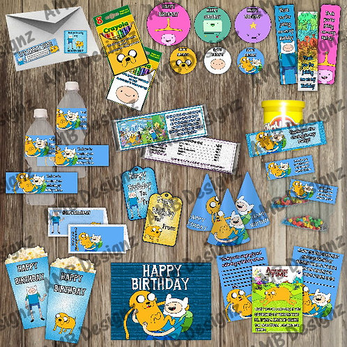 Adventure Time Party Supply Ultimate Pack