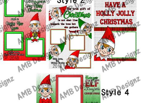Elf On The Shelf Greeting Cards