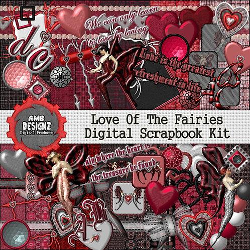 Love of the Fairies Digital Scrapbooking Kit
