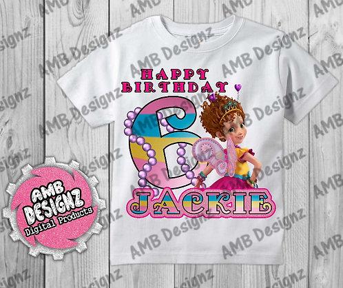 Fancy Nancy T-Shirt Birthday Image - Fancy Nancy Party Supplies