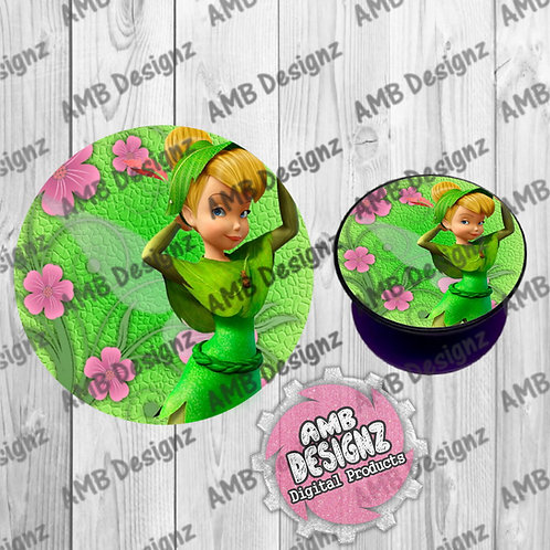 Tinkerbell Phone Grip - Phone Grip Party Favor