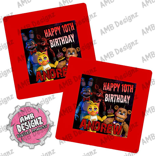 Five Nights at Freddy's (FNAF) Party Plates - FNAF Party Supplies