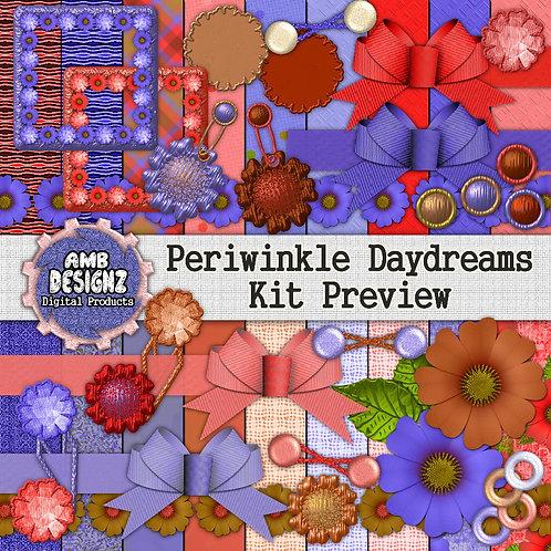 Periwinkle DayDreams Digital Scrapbooking Kit