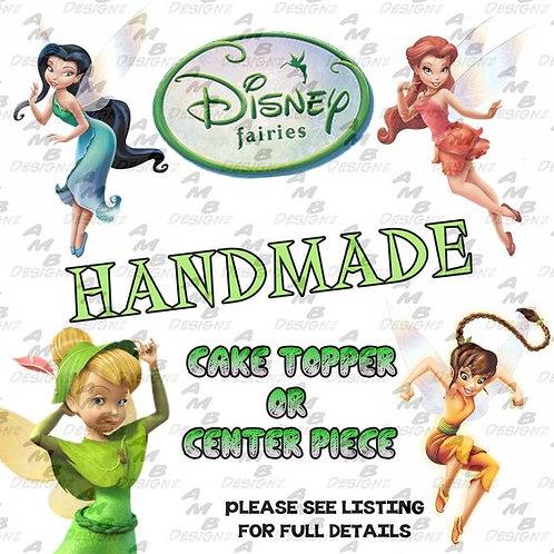 Disney Fairies Tinker Bell Cake Topper Centerpiece