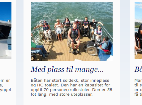 The Sea should be available for all of us.  Sjøen for alle !