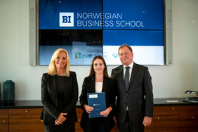 Scholarship Ceremony and Reception at BI