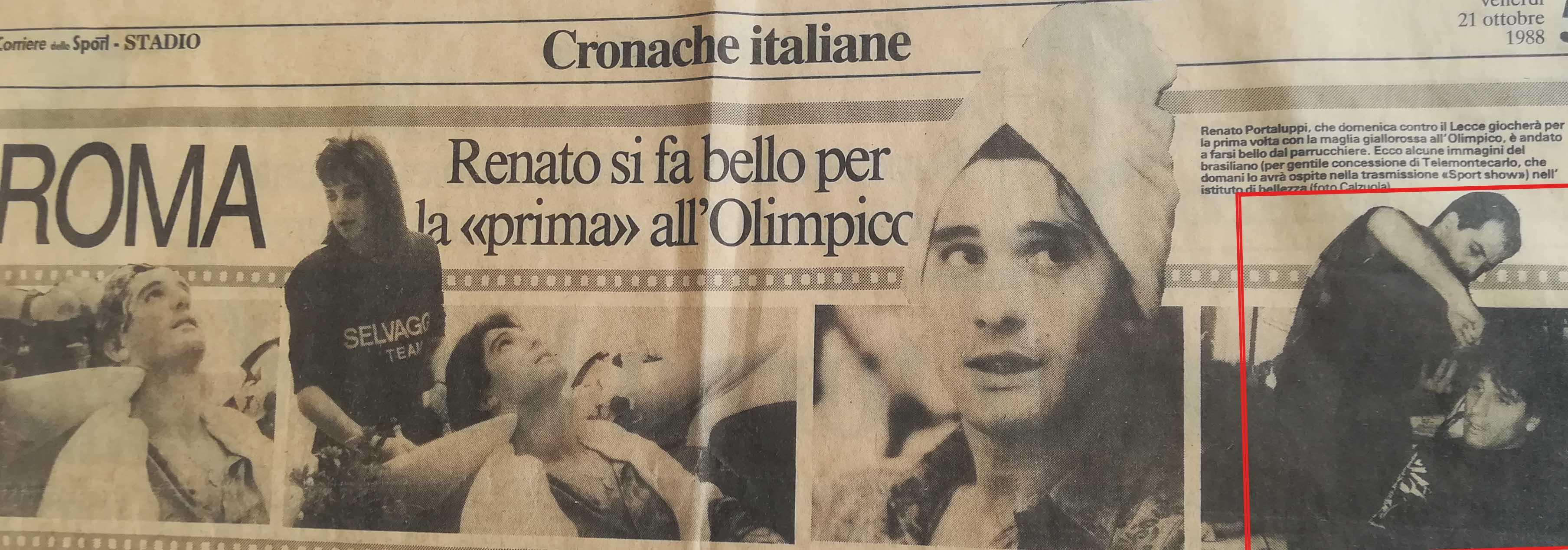 Luciano Bellotti il Parrucchiere dei Vip