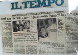 Luciano Bellotti parrucchiere Roma Francesco Totti